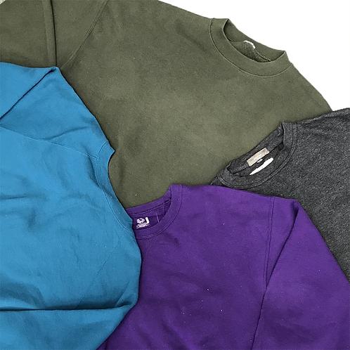 Block Plain Colour Sweaters