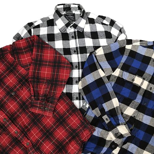 15kg sack flannel shirts