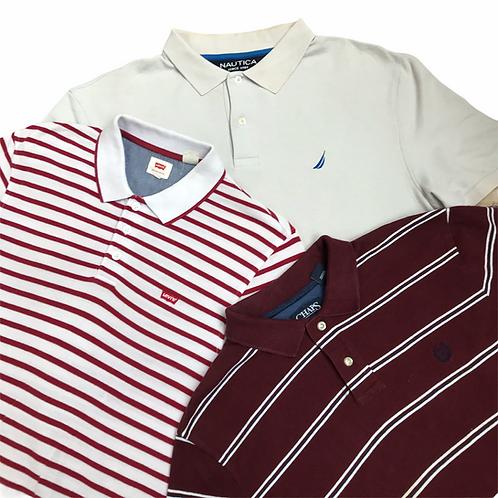 30x random brand polo shirts