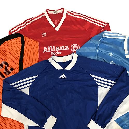 80's + 90's Football shirts.