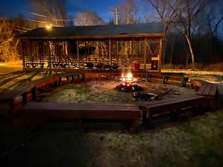 Fire Pit & Pavilion