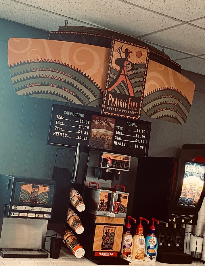 market coffee bar