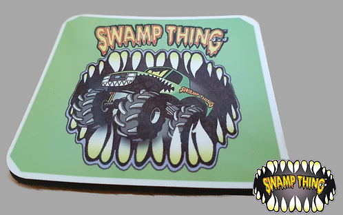 Swamp Thing 4x4 Coaster