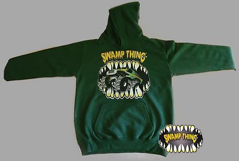 Swamp Thing 4x4 Kids Hoodie