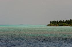 мальдивский пейзаж