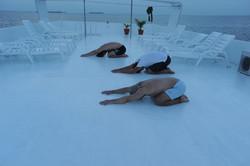 йога на Мальдивах