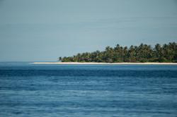 типичный мальдивский пейзаж