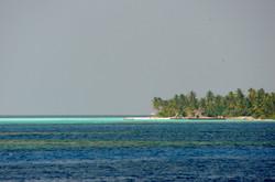 пейзаж на Мальдивах