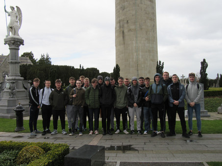 Year 14 History students visit Dublin, March 2018