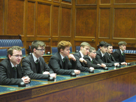 Year 13 Politics students visit Stormont