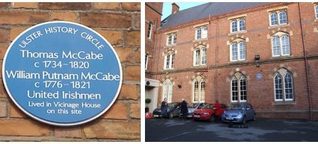200th anniversary of the death of Thomas McCabe