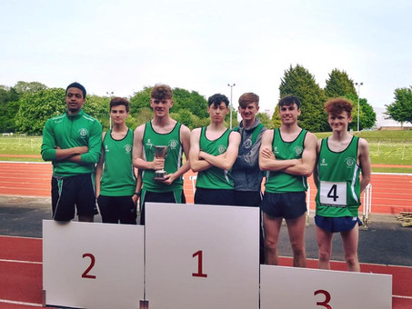 First ever Senior Team Trophy highlights historic weekend at Ulster Track and Field Championships!