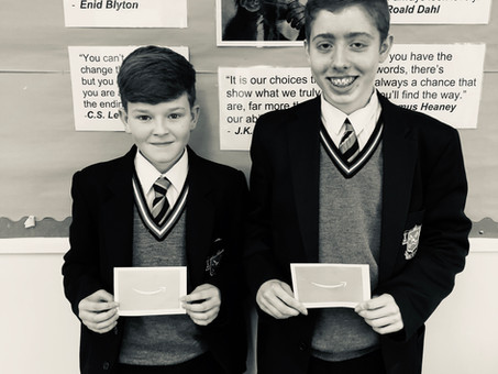 Year 10 Poetry Competition Winners!