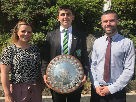 Sciath Mhic Giolla Bhríde Success for St Malachy's Irish Department