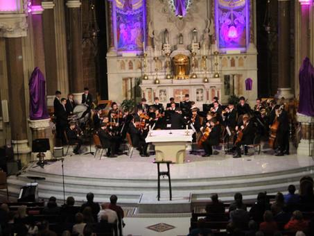 Musicians excel in Clonard Monastery