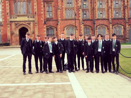 Year 13 Politics Students visit QUB