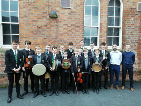 Unrivalled Success at Holywood Music Festival