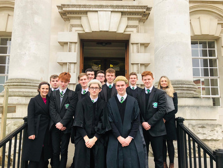 What a day for the St Malachy's College 2018 Bar Mock Trial Team!