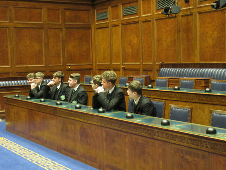 Government and Politics class visit to Stormont