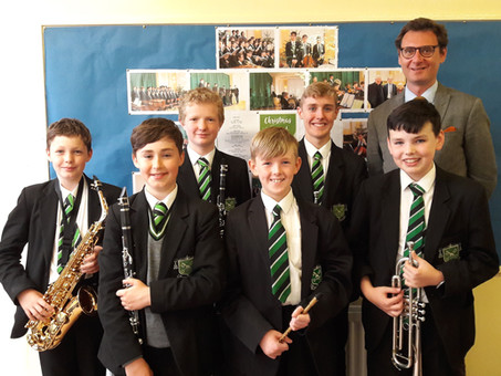 Young musicians blow the competition away!