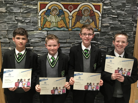 Year 8 students success at Credit Union Quiz