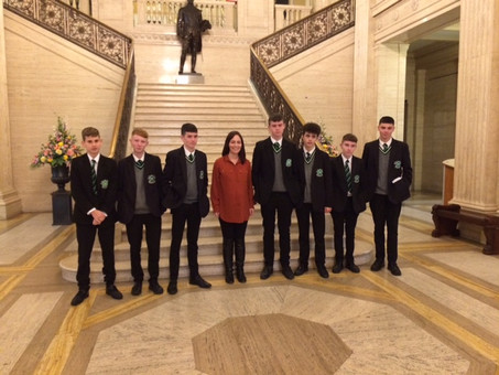 LLW Trip to Stormont