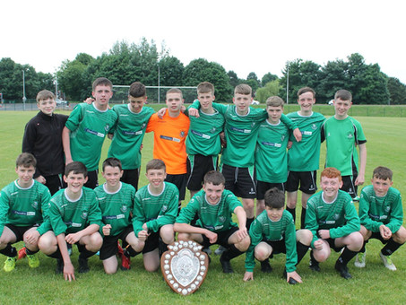 Belfast Schools' Cup winners 2018: U18s and now....Year 8 and Year 10 teams!