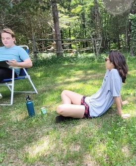 Running Lines In Nature