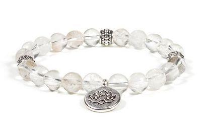 Bracelet Mala Cristal Roche   Guérison Stimulant