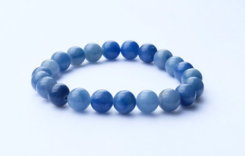 - Bracelet Aventurine Bleue - Motivation personnelle