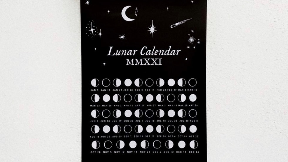 Lunar Calendar 2021 (Digital)