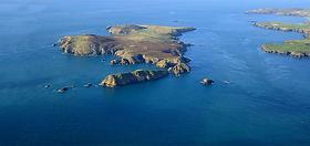 landing on ramsey island rspb nature res