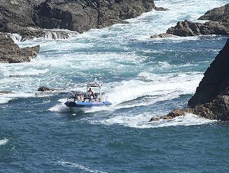 Jet boat trips fast rhib trips Ramsey Is