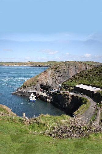 Ramsey Island ferry boat Ramsey sound Pe
