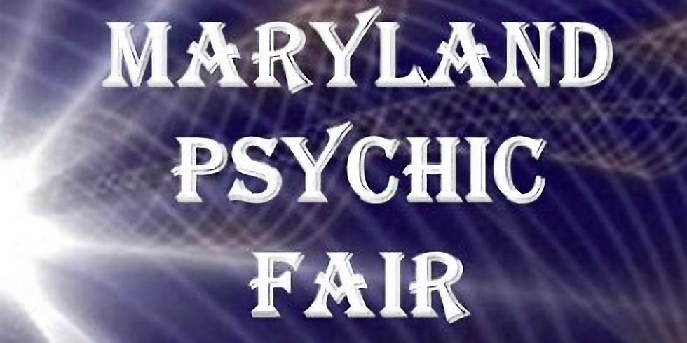 Maryland Psychic Fair 2020