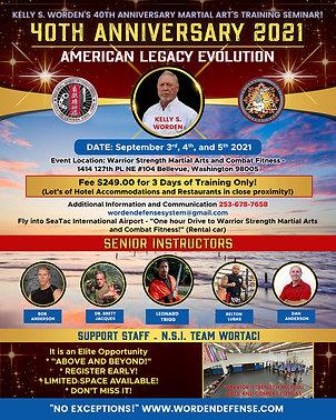 40th Anniversary Seminar
