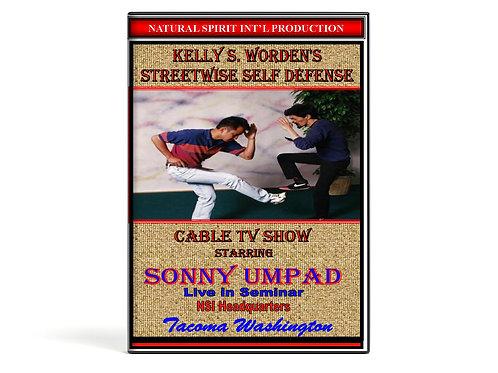DVD-Streetwise Self Defense-Sonny Umpad Seminar
