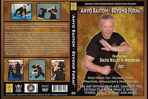 DVD-Anyo Baston-Beyond Form