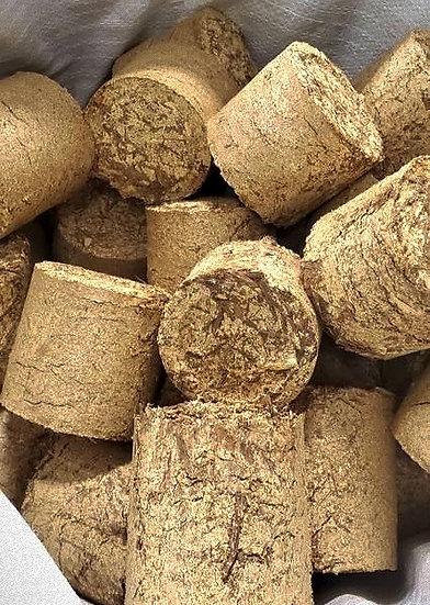 100% Natural Hardwood Briquets -10 Bags (600lbs)