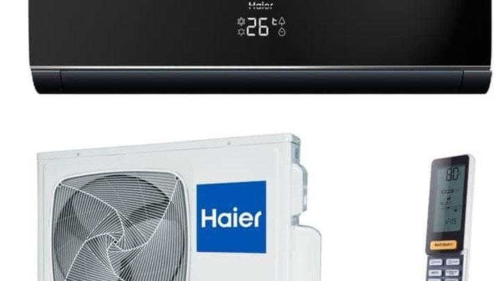 Haier HSU-24HNF103/R2 -Full Black - HSU-24HUN203/R2