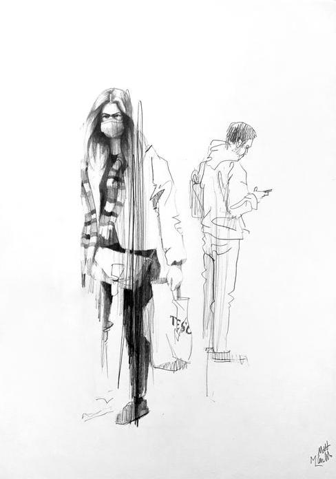 figures sketch