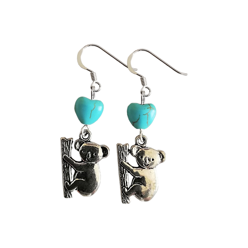 Koala Charm Earrings