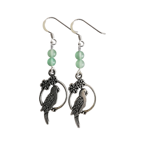 Parrot Charm Earrings