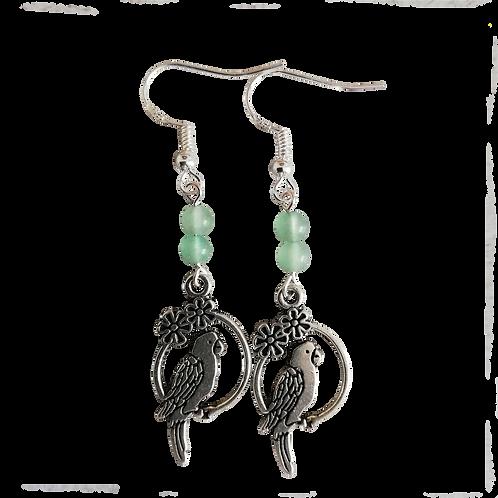 Parrot Charm Earrings