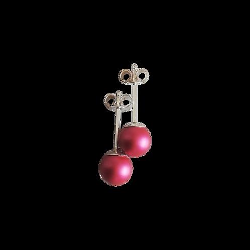Mulberry Swarovski® Crystal Pearl Stud Earrings