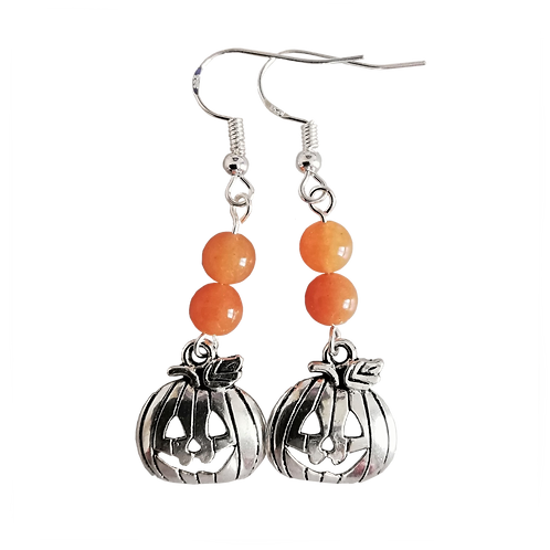 Pumpkin Charm Earrings