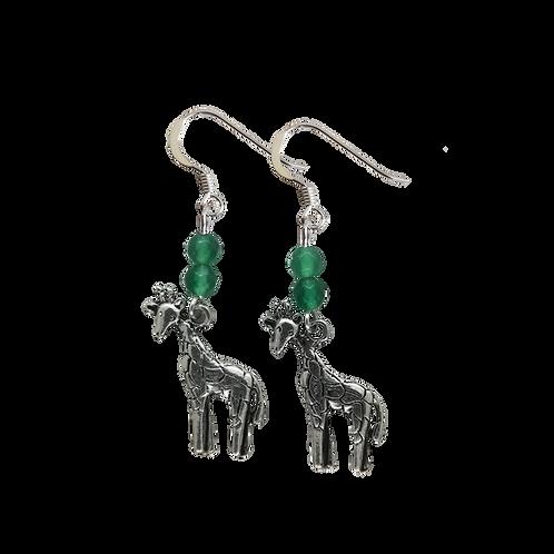 Giraffe Charm Earrings