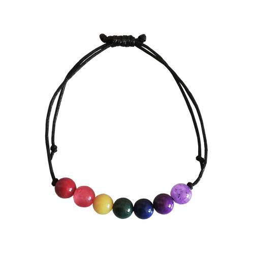 Rainbow Bracelet, Adjustable