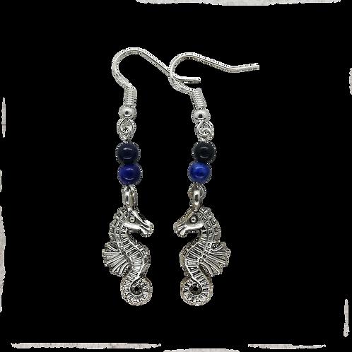 Seahorse Charm Earrings