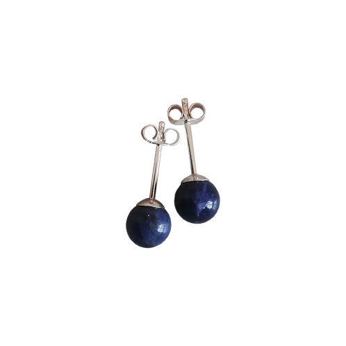 Sodalite Stud Earrings